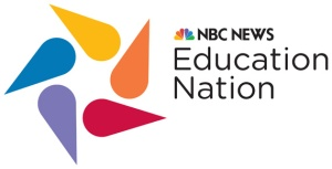 "EDUCATION NATION -- Pictured: ""Education Nation"" Logo -- NBC Photo"